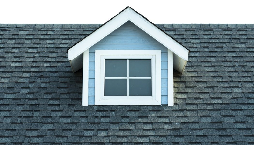 House Roof with Window