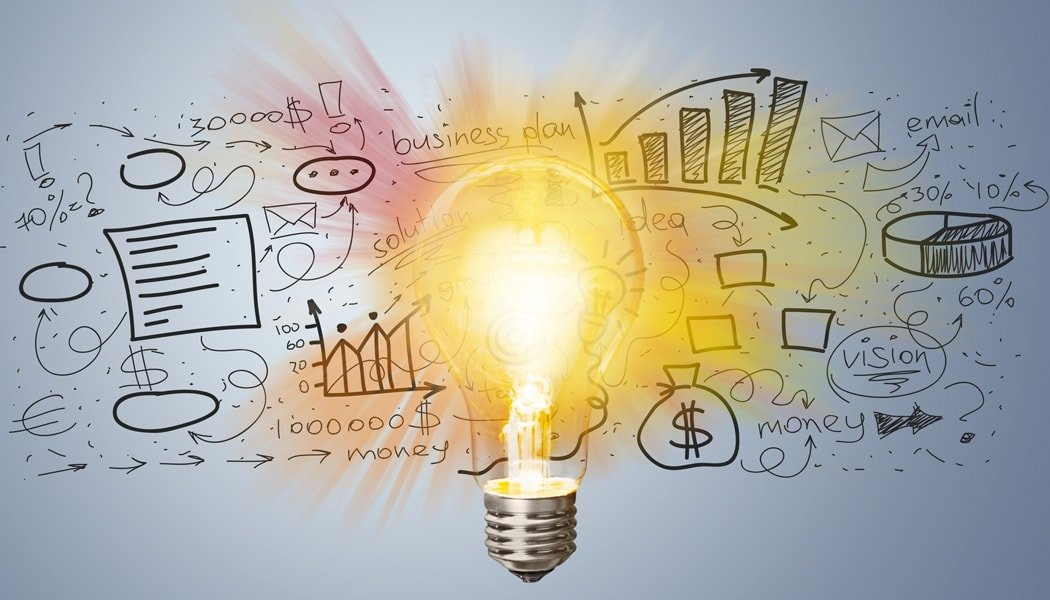Light Bulb and Marketing Ideas