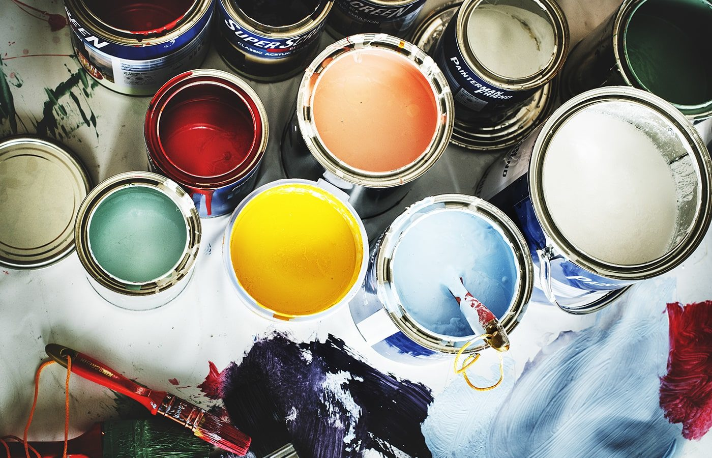 Paint for renovations