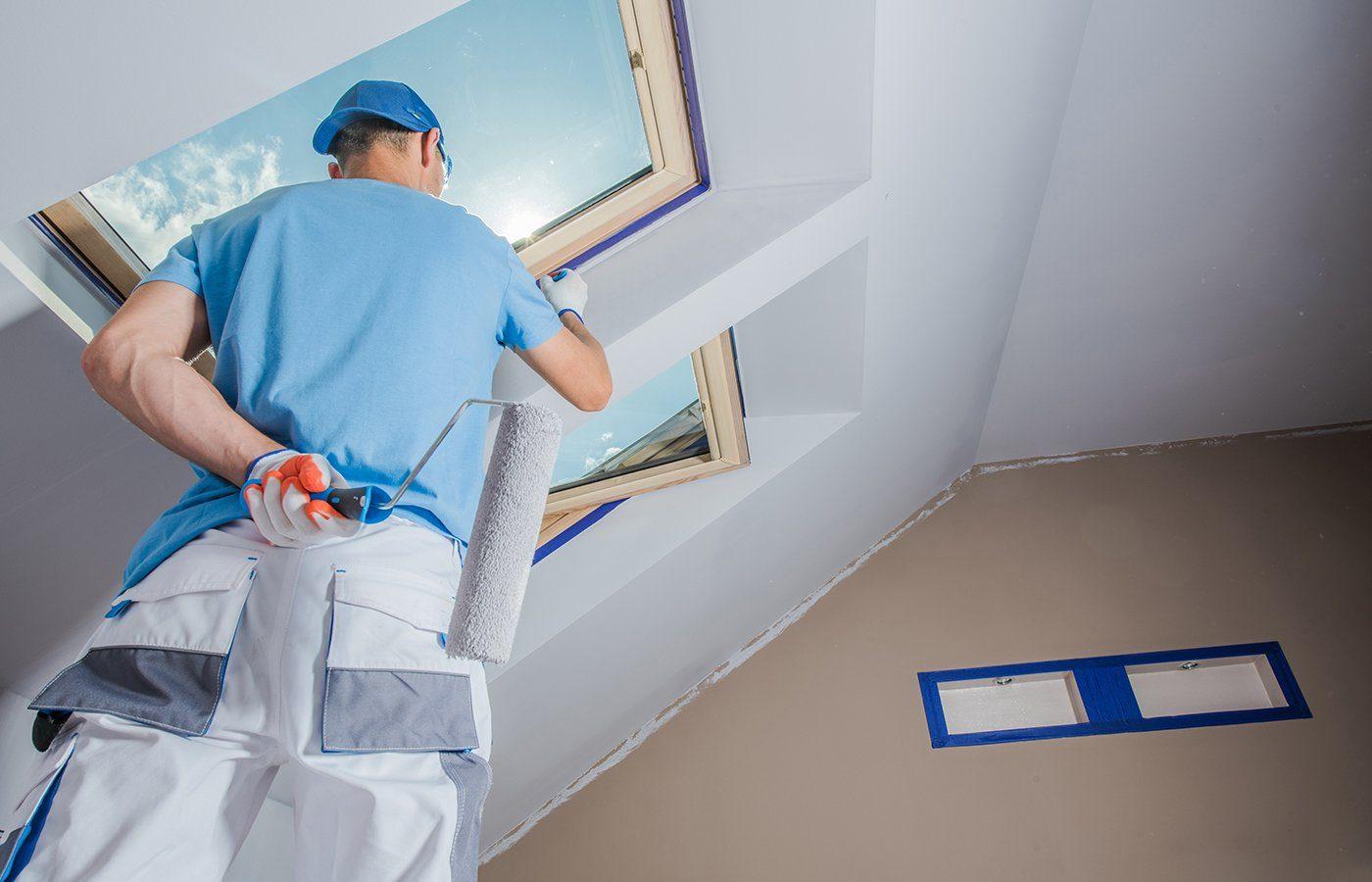 Men Painting Apartment