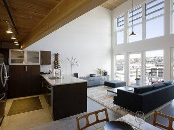 Corporate apartment interior